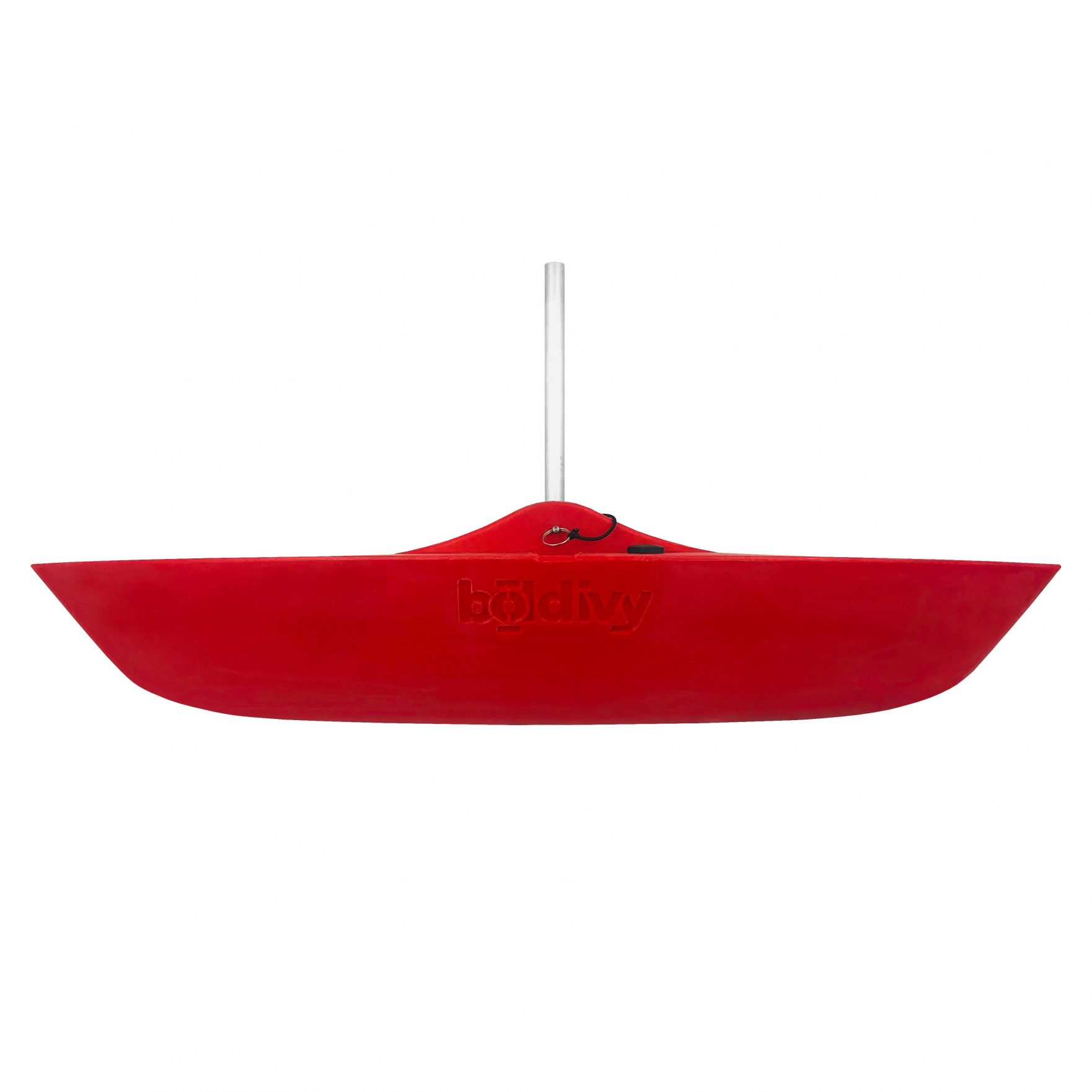Bold Ivy Canoe Stabilizer Floats – Side – Red