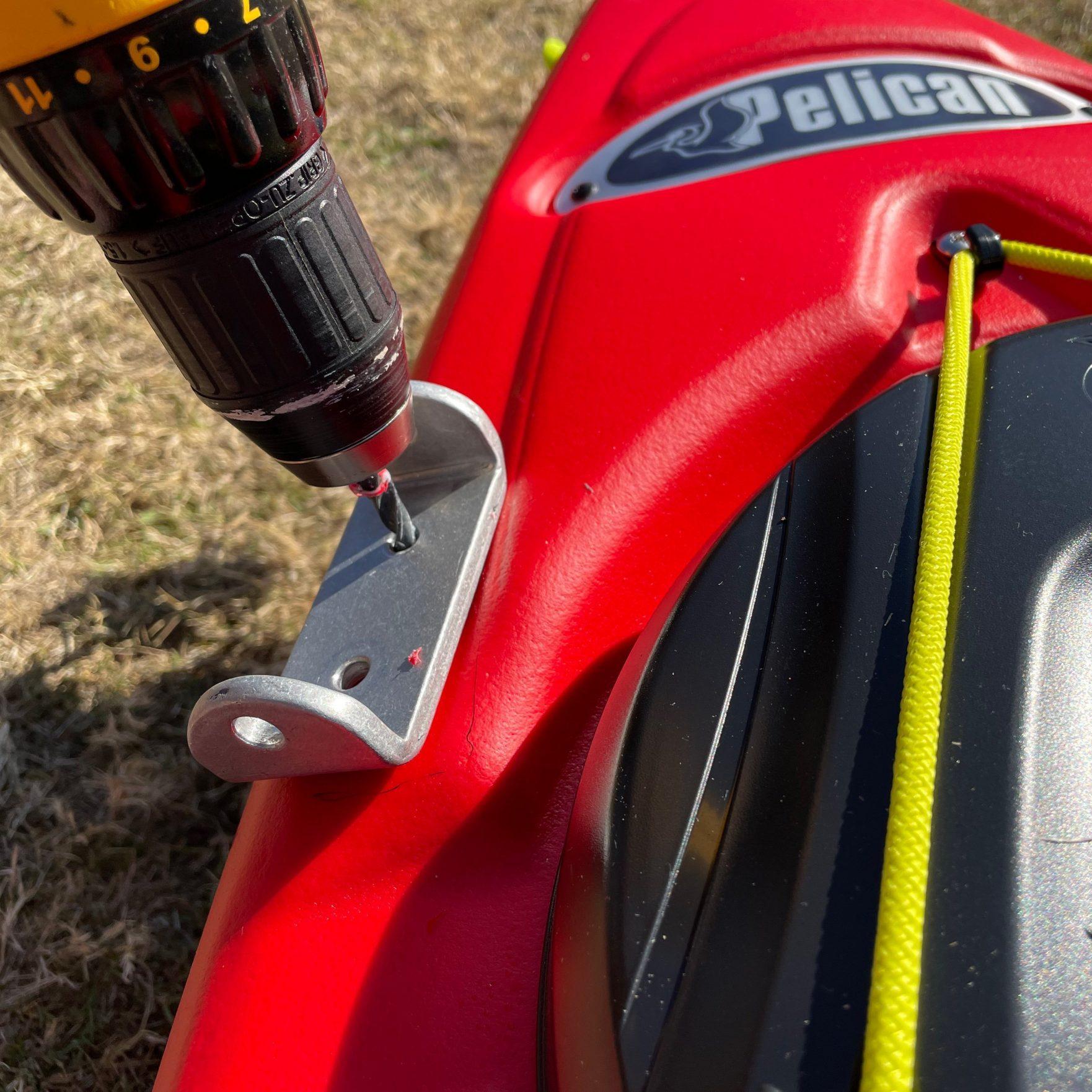 Bold Ivy Kayak Stabilizer Installation – Step 8