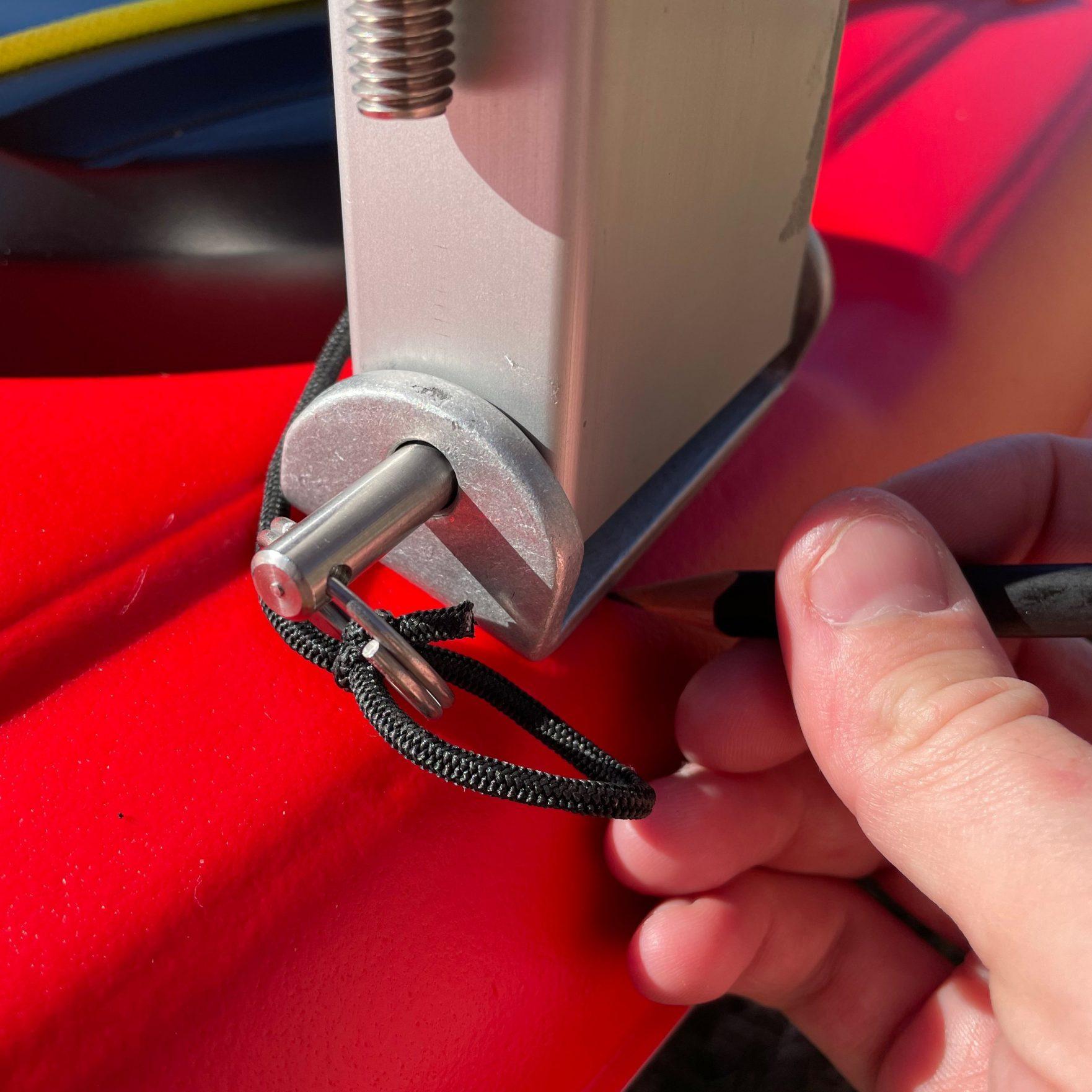 Bold Ivy Kayak Stabilizer Installation – Step 6